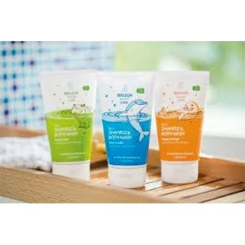 Weleda Kids 2 in 1 - Shampoo and Body Wash (100% Natural) - 150ml