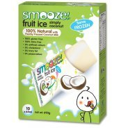 Smooze Fruit Ice - Simply Coconut 10 x 65ml Freezer Packs