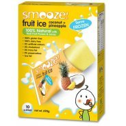 Smooze Fruit Ice - Natural Pineapple & Coconut - 10 x 65ml freezer packs