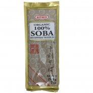 100% Buckwheat Soba Noodles (Organic, Gluten Free) - 200g