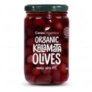 Olives, Kalamata (Organic, With Pits) - 136g