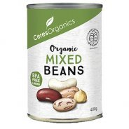 Mixed Beans (organic, gluten free) - 400g can