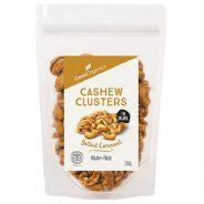 Cashew Cluster Snack, Salted Caramel (organic) - 200g