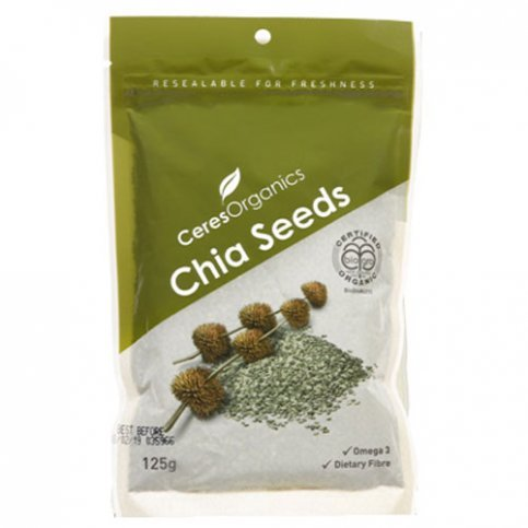 Chia Seeds, Black (organic, gluten free) - 125g & 400g