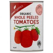 Tomatoes, Whole Peeled (Chantal, Organic, Gluten Free) - 400g can