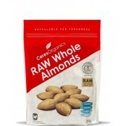 Almonds - Organic (RAW, Whole) - 250g