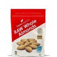 Almonds - Organic (RAW, Whole) - 250g