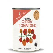 Tomatoes, Cherry (Organic) - 400g Can