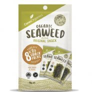 Seaweed - Roasted Nori Snack (Ceres, Organic) - 8 x 2g Multipack