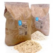Rolled Oats, Jumbo or Quick Cook (Organic, Wholegrain, Bulk) - 3kg