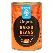 Baked Beans (organic) - 400g can