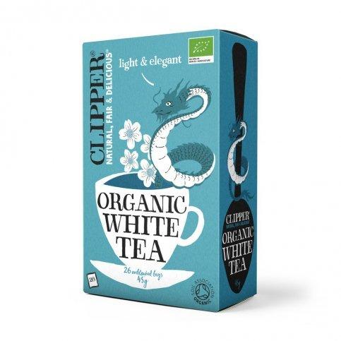 White Tea (Organic, Fair Trade, Clipper) - 26 bags