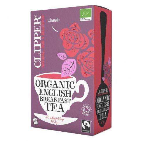 English Breakfast Black Tea (Organic, Clipper) - 20 bags