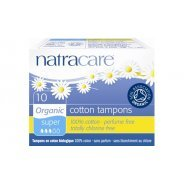 Natracare Tampons (Organic, Super) - 10s & 20s