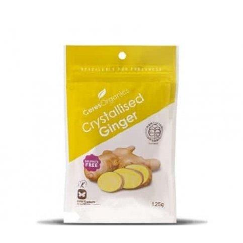 Crystallised Ginger (organic) - 125g