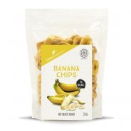 Dried Banana Chips (organic) - 200g