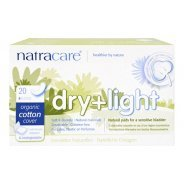 Natracare Organic Dry & Light Incontinence Pads 20s