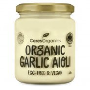 Garlic Aioli (Organic, Vegan) - 235g glass jar