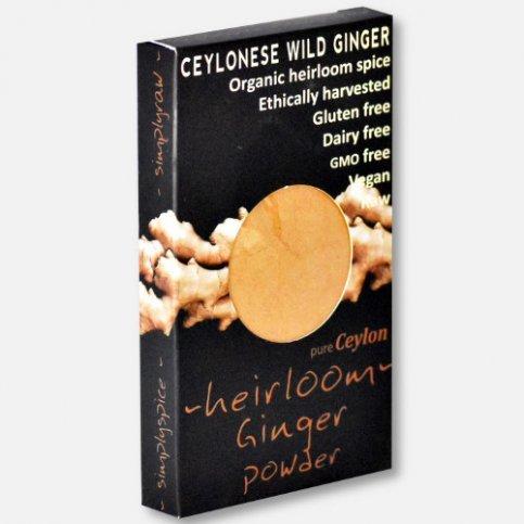 Ginger Powder (wild, organic) - 30g