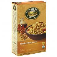 Sunrise Crunchy Maple - Gluten Free Breakfast Cereal (Nature's Path, Organic) - 12 x 300g packet carton