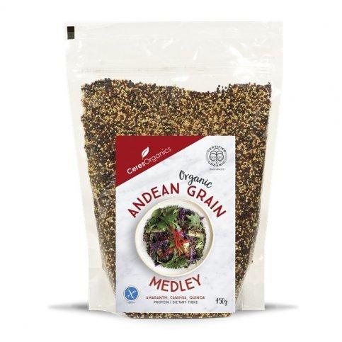 Grain Medley, Andean (organic Amaranth, Canihua & Quinoa) - 450g