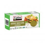 Green Lentil Lasagne (gluten free, organic) - 250g & Carton of 6 x 250g