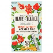 Heath & Heather Bright & Fruity Morning Time Tea (Organic, Herbal)