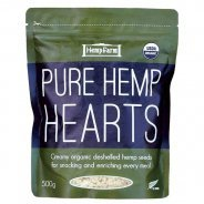 Hemp Hearts (Organic, Hulled Hemp Seeds, Hemp Farm) - 500g