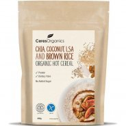 Hot Cereal, Chia, Coconut, LSA & Brown Rice (organic) - 350g