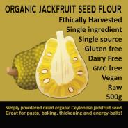Jackfruit Seed Flour, organic - 500g