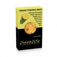Dried Pineapple Rings (organic) - 100g