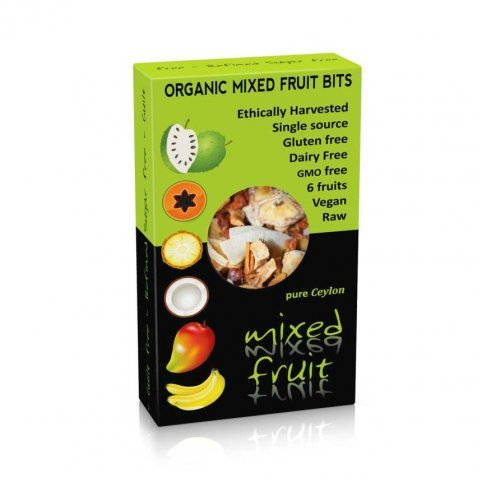 Dried Mixed Fruit Bits (organic) - 100g