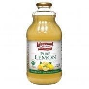 Lakewood Juice, Pure Lemon (Organic, no added sugar) - 946ml