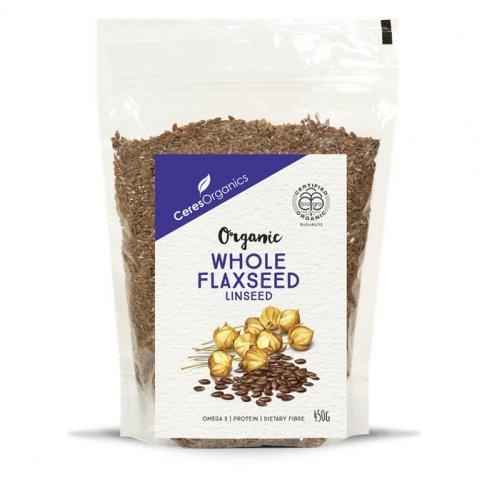 Linseed, Brown (Flaxseed, organic) - 450g