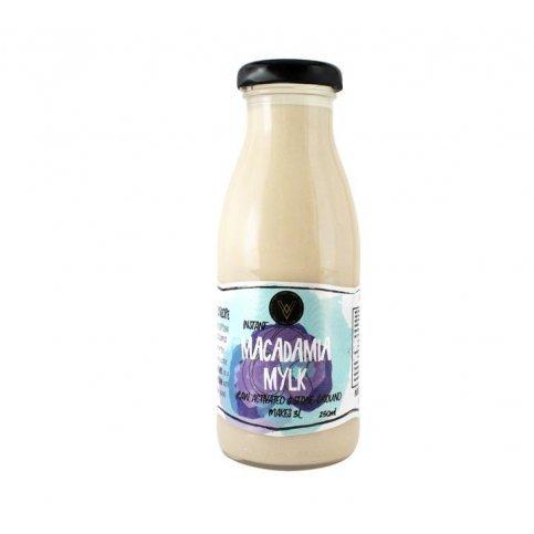 Macadamia Mylk Concentrate - 250ml (Makes 4L, 100% Organic NZ Macadamias)
