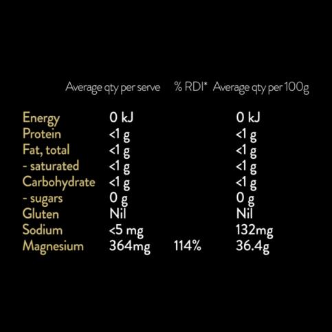 Vitus Magnesium Capsules (Vegan, Gluten Free, 4 Month Supply) - 120 capsules