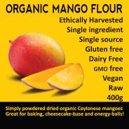 Mango Flour, organic - 400g