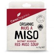 Miso Soup: Mug-a-Miso (Organic, 4 x 15g sachets)
