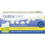 Natracare Applicator Tampons (Organic, Regular & Super) - 16s