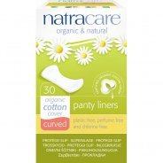 Natracare Curved Panty Liners (Organic) - 30s