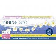 Natracare Digital Tampons (Super Plus, Organic) - 20s