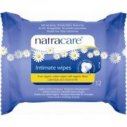 Natracare Organic Cotton Intimate Wipes 12s