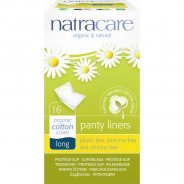 Natracare Long Panty Liners Purse Pack (Organic) - 16's
