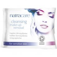Natracare Cleansing Make-Up Removal Wipes (Organic) - 20s
