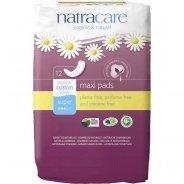 Natracare Organic Maxi Pads Super 12s