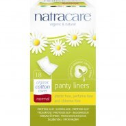 Natracare Organic Cotton Normal Panty Liners, Purse Pack 18s