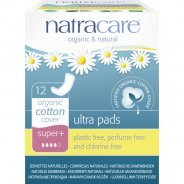 Natracare Organic Ultra Pads (no wings) Super Plus 12s