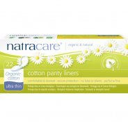 Natracare Ultra Thin Organic Cotton Panty Liners 22s