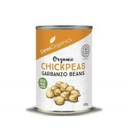 Chickpeas (organic, garbanzo no added salt) - 400g