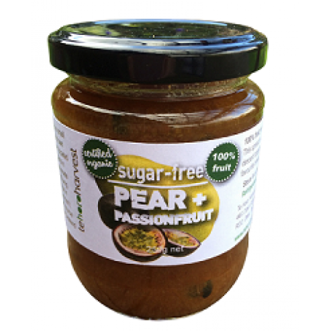 Pear & Passionfruit Spread (Organic, Sugar-Free) - 250g